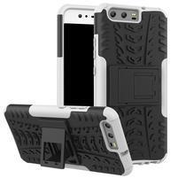 Outdoor odolný obal na mobil Huawei P10 - bílý