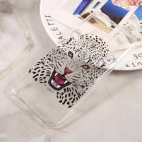 Emotive tenký gelový obal obal na mobil Huawei P10 - leopard