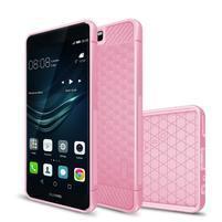 IVS hexagon odolný gelový obal na Huawei P10 - růžový