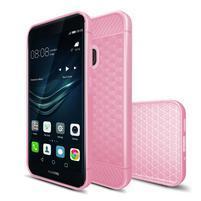 IVS hexagon gelový obal na Huawei P10 Lite - růžový