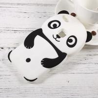 Panda silikonový obal na mobil Huawei P10 Lite - černý