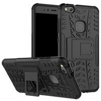Outdoor odolný obal na mobil Huawei P10 Lite - černý