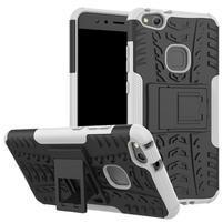 Outdoor odolný obal na mobil Huawei P10 Lite - bílý