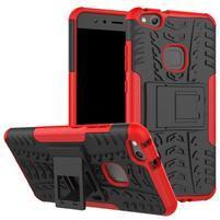 Outdoor odolný obal na mobil Huawei P10 Lite - červený