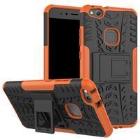 Outdoor odolný obal na mobil Huawei P10 Lite - oranžový