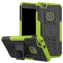 Outdoor odolný obal na mobil Huawei P10 Lite - zelený