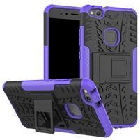 Outdoor odolný obal na mobil Huawei P10 Lite - fialový