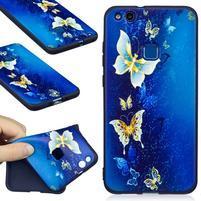 Bossy gelový obal na Huawei P10 Lite - motýlci