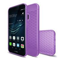 IVS hexagon gelový obal na Huawei P10 Lite - fialový