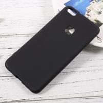 Matný anti-otiskový obal na Huawei P10 Lite - černý