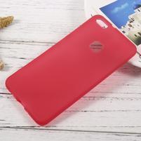 Matný anti-otiskový obal na Huawei P10 Lite - červený