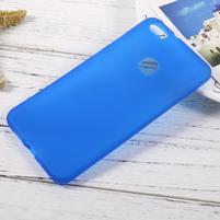 Matný anti-otiskový obal na Huawei P10 Lite - modrý