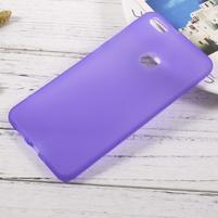 Matný anti-otiskový obal na Huawei P10 Lite - fialový