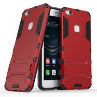 Defender odolný obal na mobil Huawei P10 Lite - červený