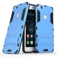 Defender odolný obal na mobil Huawei P10 Lite - světlemodrý