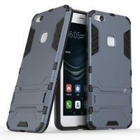 Defender odolný obal na mobil Huawei P10 Lite - šedomodrý