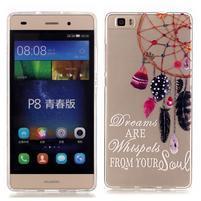 Meffi gelový obal na mobil Huawei P8 Lite - lapač snů