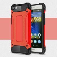 Guard outdoor odolný obal na Huawei P8 Lite - červený