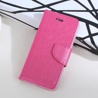MoonStars peněženkové pouzdro na mobil Huawei P8 Lite - rose