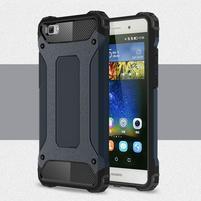 Guard outdoor odolný obal na Huawei P8 Lite - tmavěmodrý