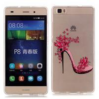 Meffi gelový obal na mobil Huawei P8 Lite - střevíc