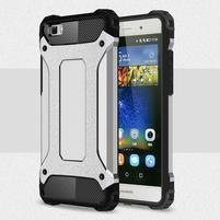 Guard outdoor odolný obal na Huawei P8 Lite - stříbrný