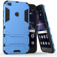 Defender odolný obal se stojánkem na mobil Huawei P9 Lite (2017) - modrý