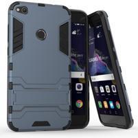 Defender odolný obal se stojánkem na mobil Huawei P9 Lite (2017) - modrošedý