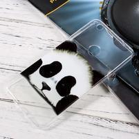 Emotive tenký gelový obal na mobil Huawei P9 Lite (2017) - panda