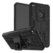 Outdoor odolný obal na mobil Huawei P9 Lite (2017) - černý