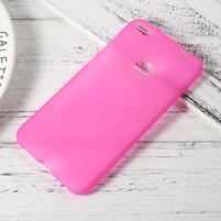 Matný gelový obal na Huawei P9 Lite (2017) - rose