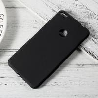 Matný gelový obal na Huawei P9 Lite (2017) - černý