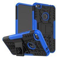 Outdoor odolný obal na mobil Huawei P9 Lite (2017) - modrý