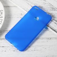 Matný gelový obal na Huawei P9 Lite (2017) - modrý