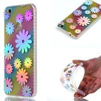Rainbow gelový obal na Huawei P9 Lite (2017) - květy