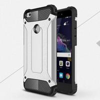 Armory odolný obal na mobil Huawei P9 Lite (2017) - stříbrný