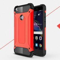 Armory odolný obal na mobil Huawei P9 Lite (2017) - červený