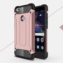 Armory odolný obal na mobil Huawei P9 Lite (2017) - růžovozlatý