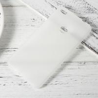 Matný gelový obal na Huawei P9 Lite (2017) - transparentní