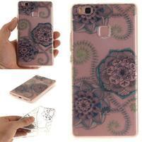 Funs gelový obal na mobil Huawei P9 Lite - lotus