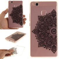 Funs gelový obal na mobil Huawei P9 Lite - henna