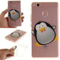 Funs gelový obal na mobil Huawei P9 Lite - tučňák