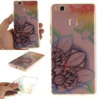 Funs gelový obal na mobil Huawei P9 Lite - leaf