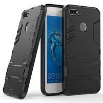 Defender odolný obal se stojánkem na Huawei P9 Lite mini - černý
