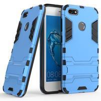 Defender odolný obal se stojánkem na Huawei P9 Lite mini - modrý