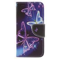 Emotive peněženkové pouzdro na Huawei P9 Lite mini - kouzelní motýlci