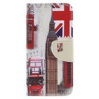 Emotive peněženkové pouzdro na Huawei P9 Lite mini - London