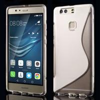 S-line gelový obal na Huawei P9 Plus - transparentní