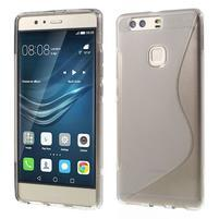 S-line gelový obal na Huawei P9 Plus - šedý