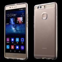 Průhledný gelový obal na Huawei P9 Plus